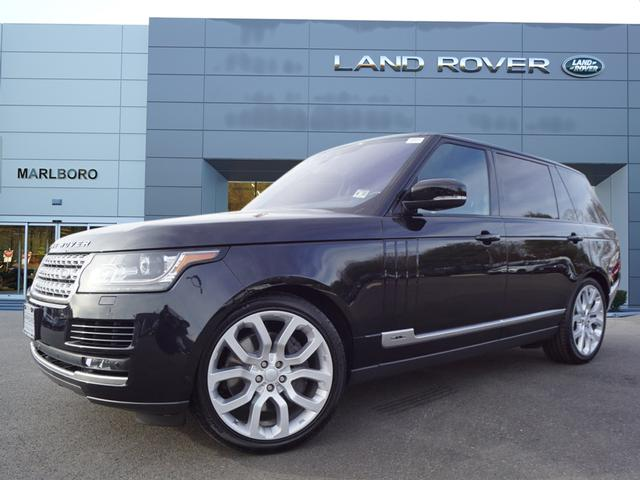 Certified Pre-Owned 2017 Land Rover Range Rover 5.0L V8 Supercharged LWB AWD
